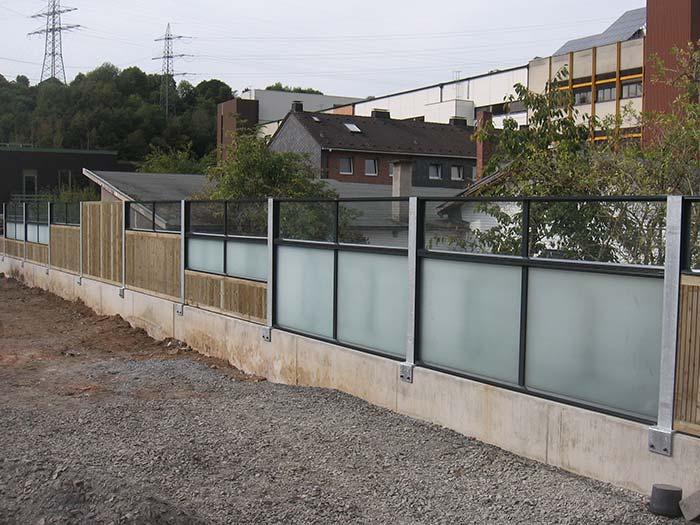 lbo l rmschutz gmbh holz aluminium glas gabionen. Black Bedroom Furniture Sets. Home Design Ideas
